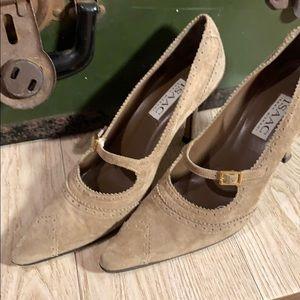 Issac mizrahi heels lightly worn